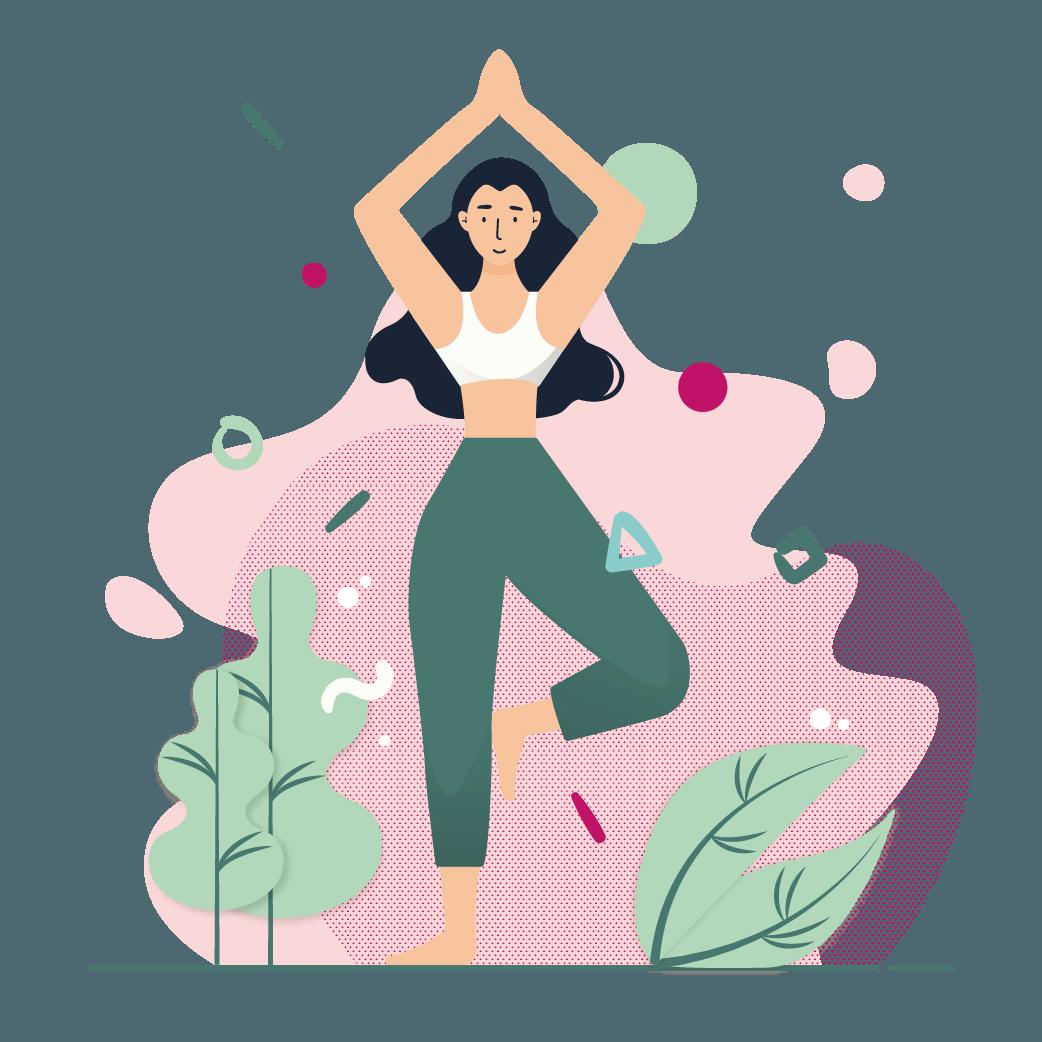 picto 3 femme yoga