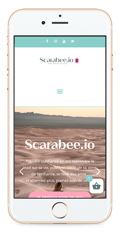 smartphone scarabee.io